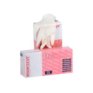 Latex Handschoenen Gepoederd Maat S A 100 St
