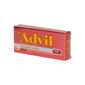 Advil 400mg Ovale Tabletten A 20 Stuks (ibuprofen)